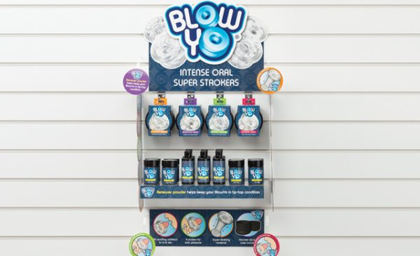 Lovehoney offers retailers free lube with BlowYo