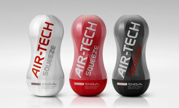 New Squeeze joins Tenga Air-Tech range