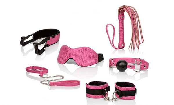 Pretty in pink: CalExotics new BDSM range now available at Scala