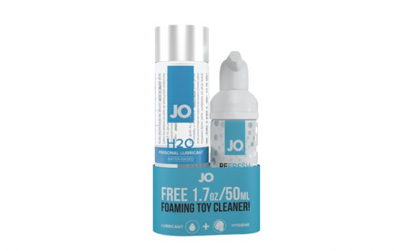 New limited time added-value offer on H2O lube from System Jo