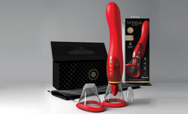 Designed for gift-giving: Her Ultimate Pleasure 24k Gold Luxury Edition