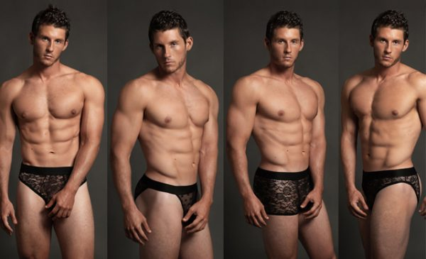 Take a Luca this! New male lingerie collection from Allure