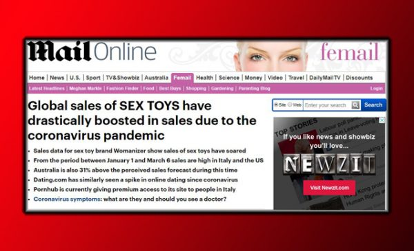 """Meanwhile, in sexy news…"" – mainstream media rejoices in reporting sex toy sales increases"