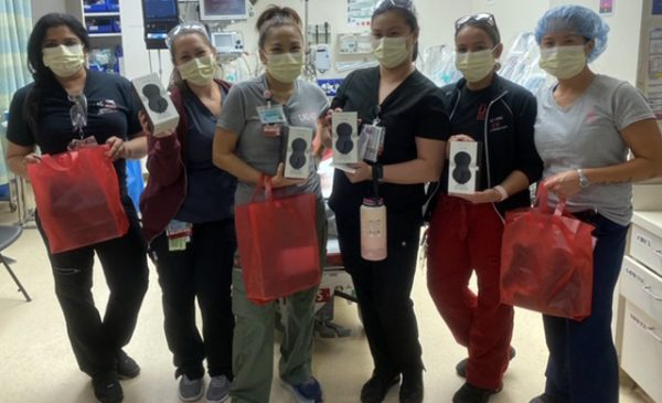 Pipedream donates Jimmyjane massagers to local hospital residents, nurses, and support staff