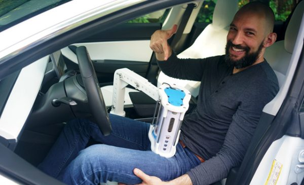 Inventor asks, 'Why not be pleasured while your self-driving car transports you?'